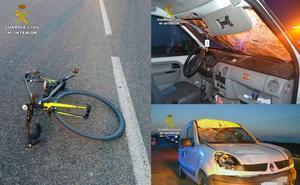 Encuentran al conductor que se dio a la fuga tras atropellar a un ciclista conduciendo borracho en Cartagena