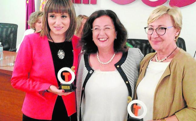 José Ballesta y Mercadona reciben los 'T de Thader'