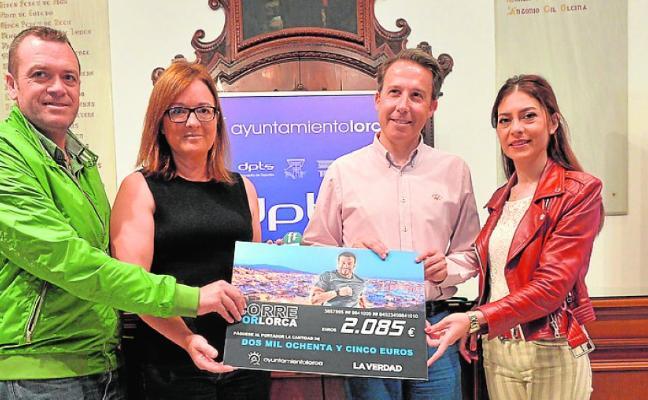 'Corre por Lorca' logra recaudar 2.085 euros para la Mesa Solidaria