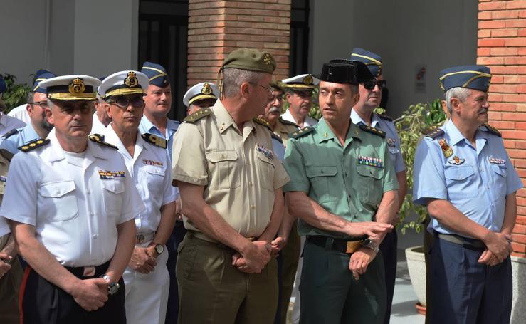 Acto institucional de la Delegación de Defensa