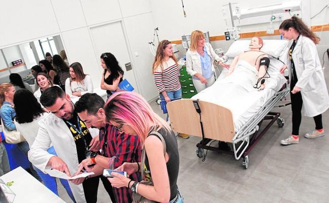 La UCAM abre sus puertas a futuros alumnos