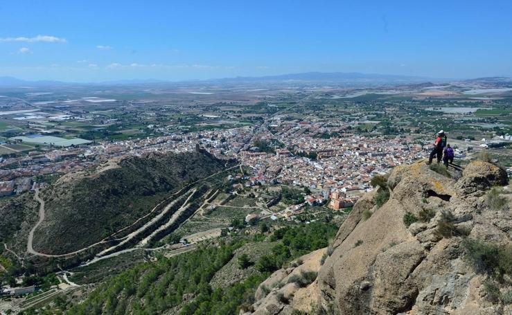 Por crestas y altozanos, en la Sierra de la Muela