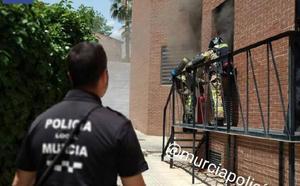 Evacúan el Centro de Salud de Espinardo por un incendio en el cuadro eléctrico