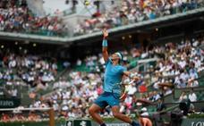 Nadal escapa de un sobresaliente Bolelli y consigue su victoria 80 en Roland Garros