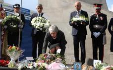 May recuerda el «coraje» de Ignacio Echeverría en el atentado de Londres