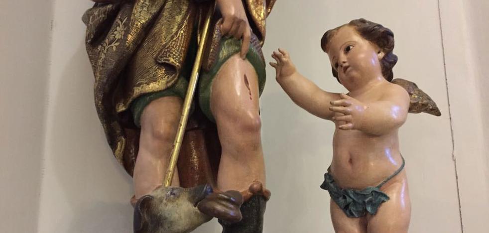 Roban una talla de la parroquia de La Purísima de El Palmar