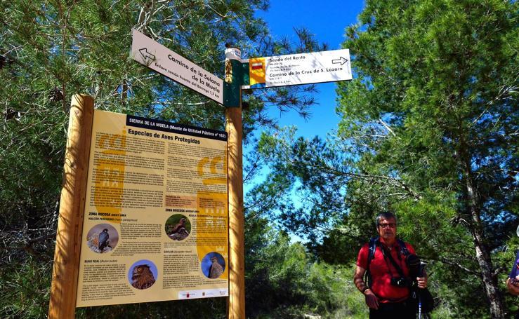 Las sendas históricas de La Muela reviven