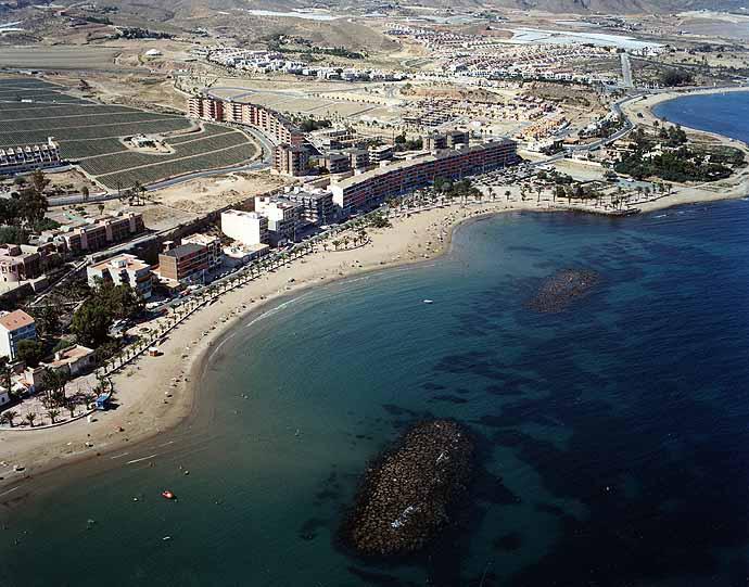 Resultado de imagen de playa rihuete murcia