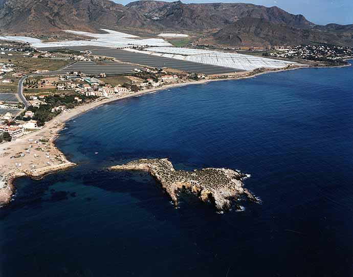 Resultado de imagen de playa isla plana murcia