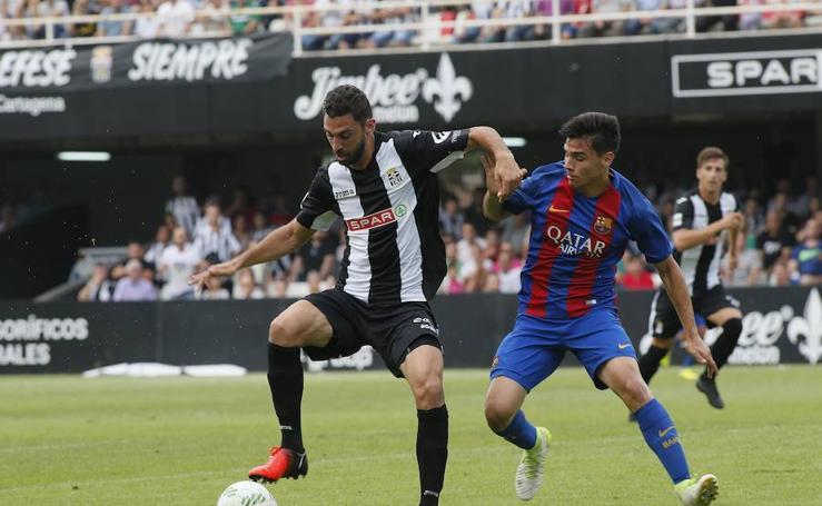 El Cartagena pierde con el Barcelona B (1-2)