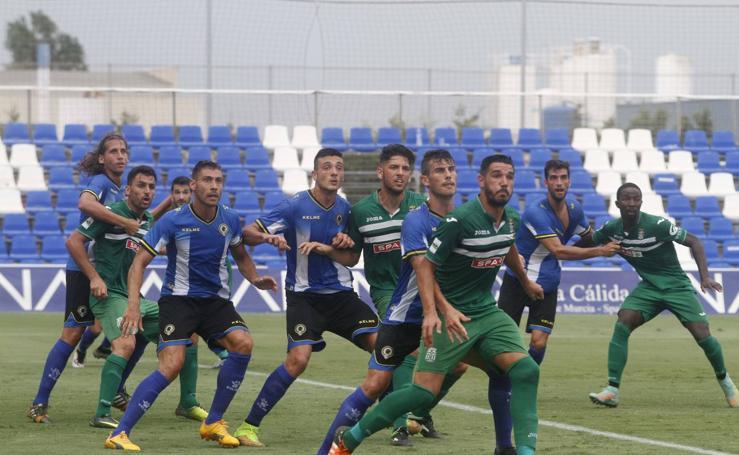 Partido sin goles entre el Cartagena y el Hércules