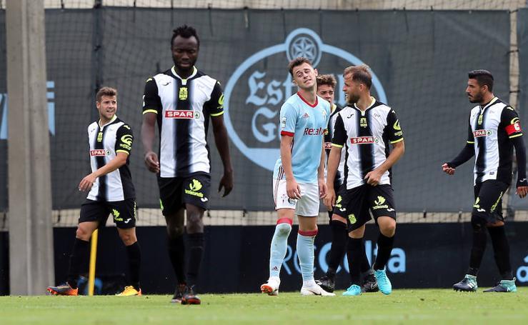 El Cartagena saca un empate en Vigo