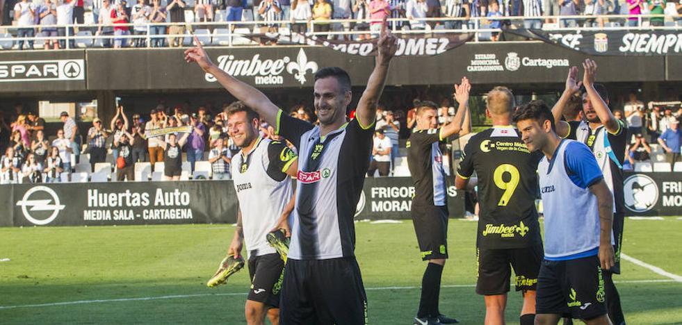 Un gol de Gaspar deja al Efesé a un paso del ascenso a Segunda