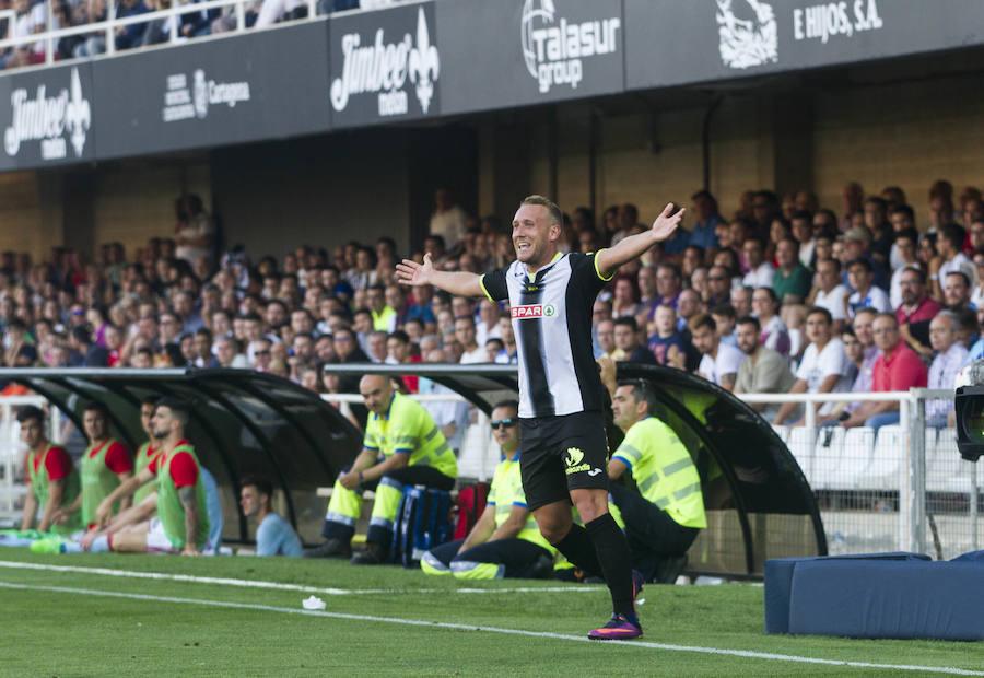 Un gol de Gaspar deja al Efesé a un paso del ascenso a Segunda tras vencer al Celta de Vigo B (1-0)