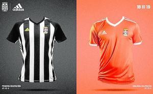 Blanco, negro y también naranja