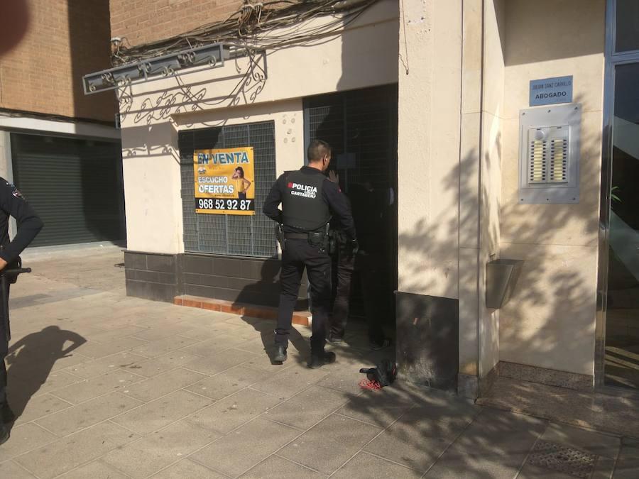 Detienen a 35 ultras del Badajoz tras asaltar un bar con peñistas del Cartagena