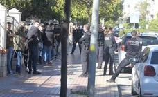 La Policía mete a los 35 ultras del Badajoz en el fondo norte del Cartagonova