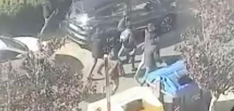 Así fue la agresión de unos ultras del Badajoz a unos peñistas del Cartagena