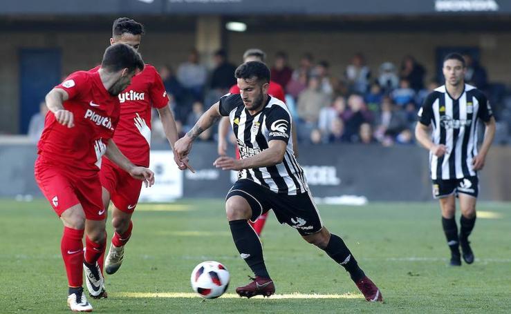El FC Cartagena empata con el Sevilla Atlético