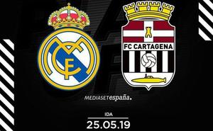 Modificado el horario del Real Madrid Castilla-Cartagena