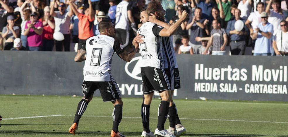 El Cartagena se enfrentará a la Ponferradina en la segunda ronda del 'playoff' de ascenso