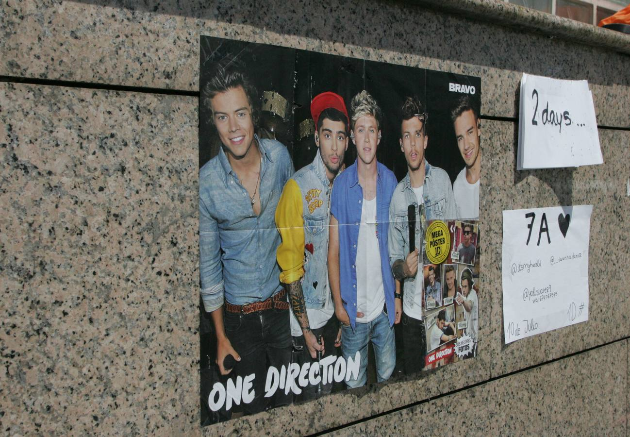 La Madrid más adolescente espera a One Direction