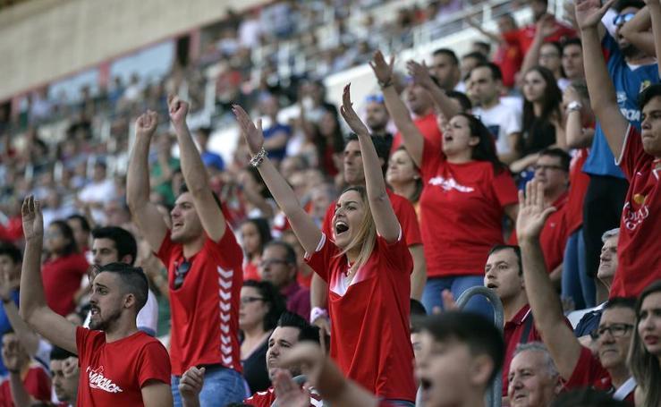 Más de 20.000 espectadores en la Nueva Condomina