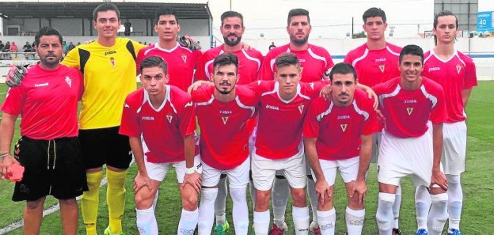 El Racing Murcia City ya luce el escudo de la entidad grana