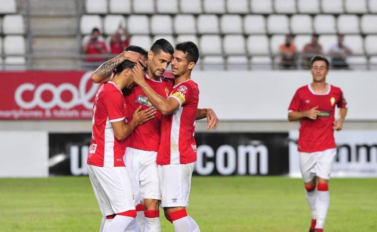 Real Murcia-Hércules (2-0)