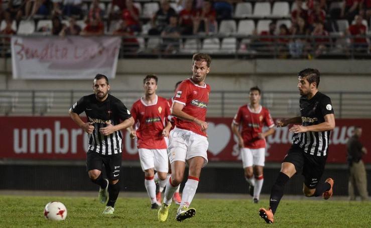 Copa del Rey: Real Murcia 4 - Racing de Ferrol 1