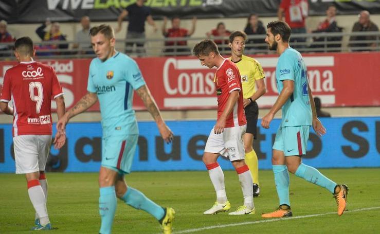 Digna derrota del Murcia ante el Barcelona