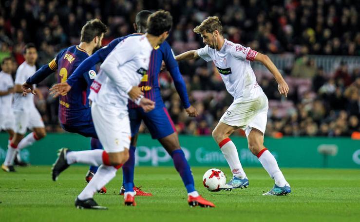 El Murcia resiste una hora a un Barça voraz (5-0)