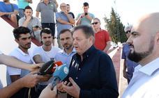 Galvéz: «Sigo en el Murcia; lo del TAS es un problema de Moro y Mauricio»