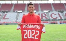 Armando Ortiz renueva con el Murcia hasta 2022
