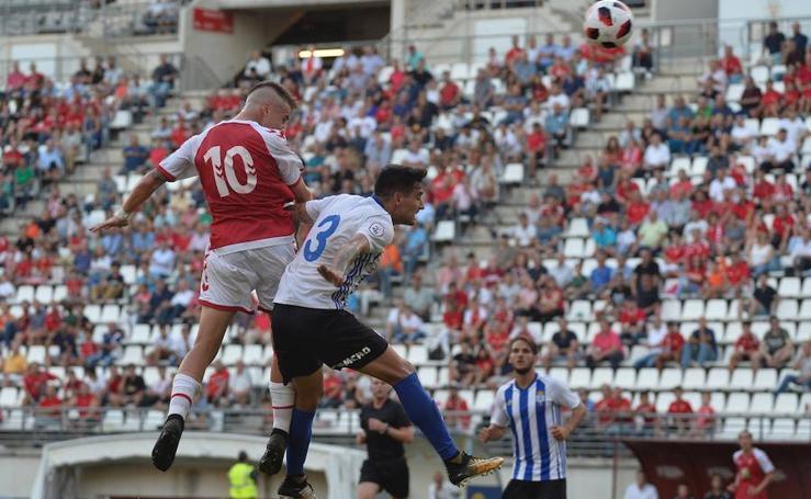 El Real Murcia se deja dos puntos en la Nueva Condomina