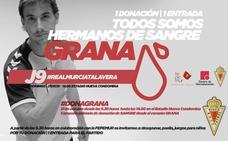 El Real Murcia regala una entrada a cada donante de sangre