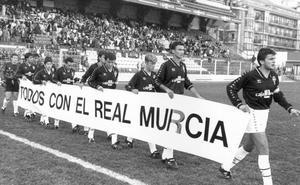 El Murcia sigue igual, 25 años después