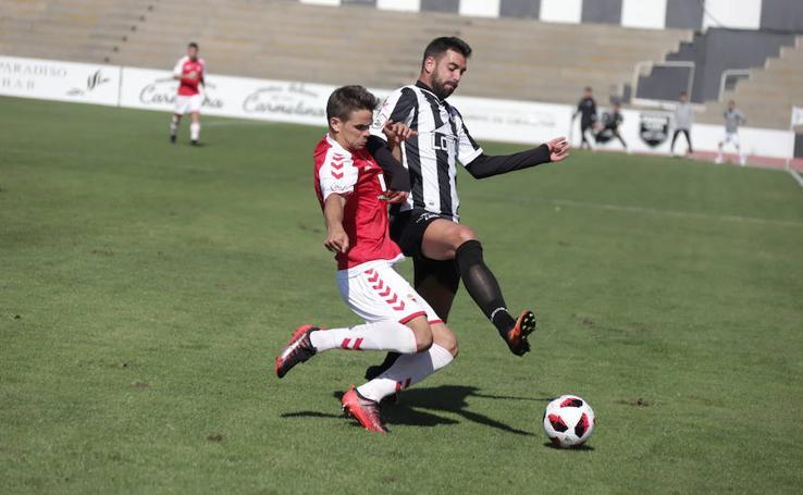 Triste empate del Murcia en La Línea de la Concepción