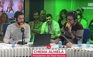 'La Vida Moderna' le propone al Real Murcia fichar a Güiza y «soterrar el estadio»