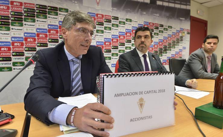 El Real Murcia cierra su ampliación de capital