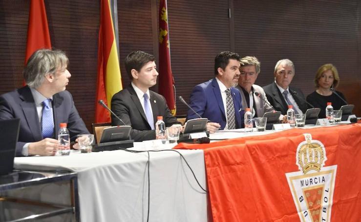Aplazada la asamblea de accionistas del Murcia