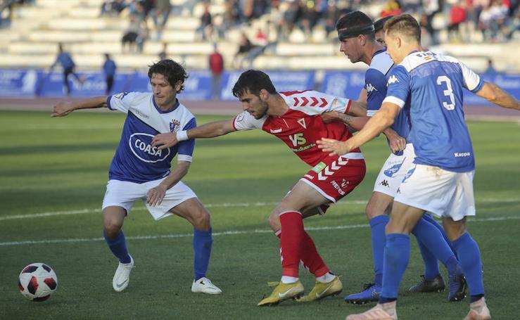 El Murcia pierde en San Fernando