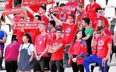 Los peñistas del Murcia dejan de lado la venganza
