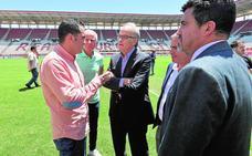 Adrián Hernández: «Soy muy pasional y quiero que el Murcia lo sea también»