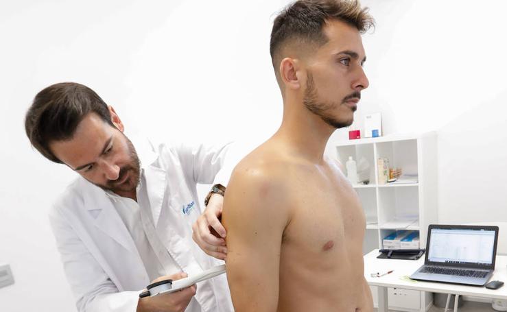 La plantilla del Real Murcia pasa el reconocimiento médico