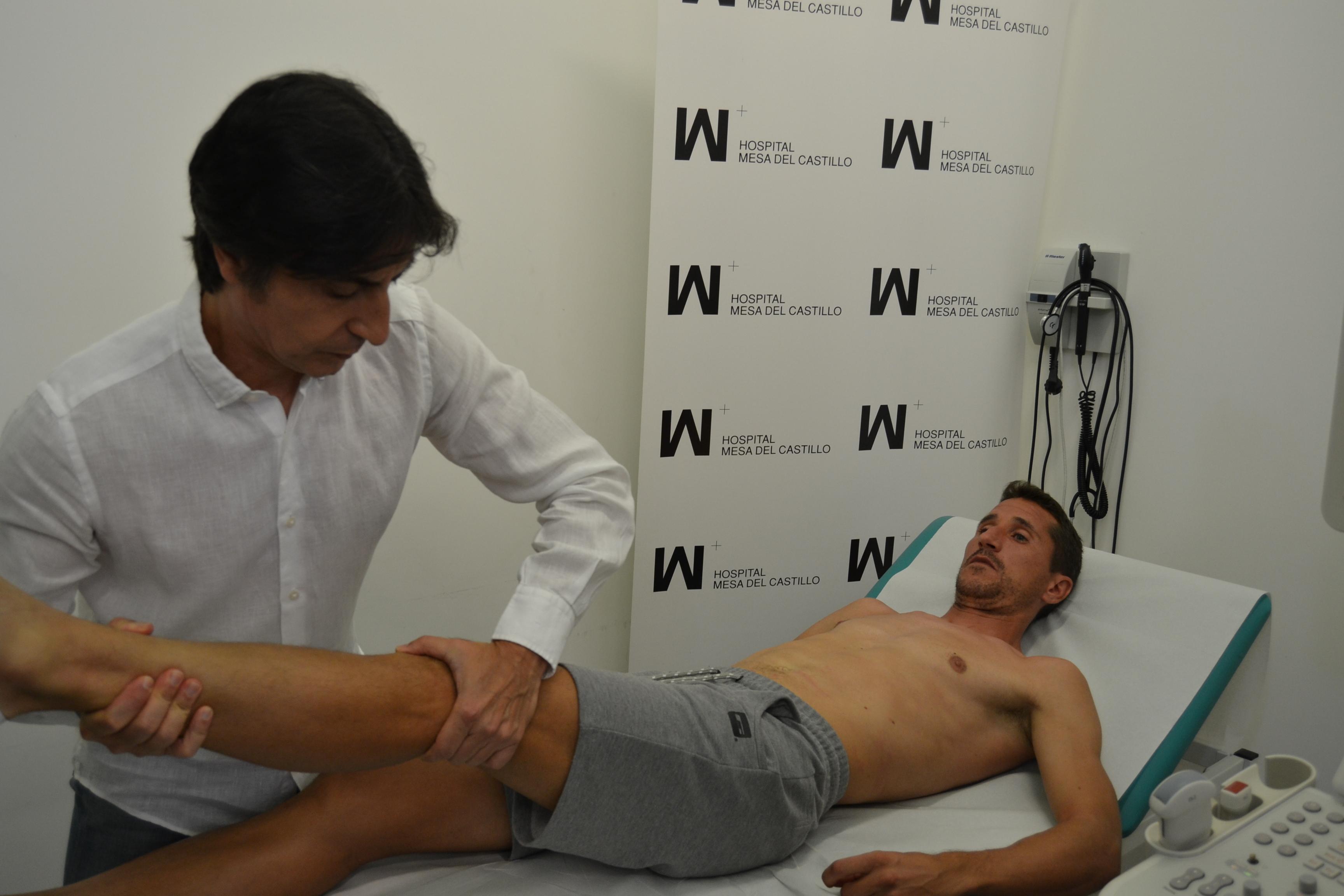 Los jugadores del Real Murcia pasan el reconocimiento médico