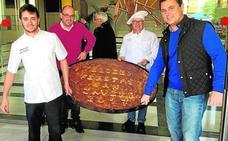 El pastel de Cierva más grande de la historia