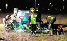 Da positivo en 'coca' y alcohol tras perder el control de su vehículo