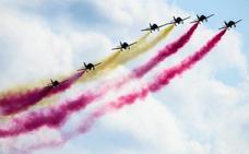 Horarios de la exhibición aérea del 10 de junio por el 75 aniversario de la Academia General del Aire
