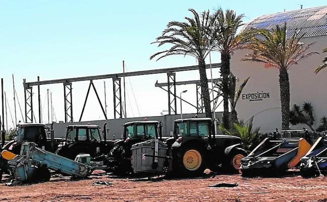 Reubican los servicios de La Manga en una parcela del puerto Tomás Maestre
